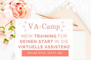 VA-Camp: Mein Training für Deinen Start in die Virtuelle Assistenz!
