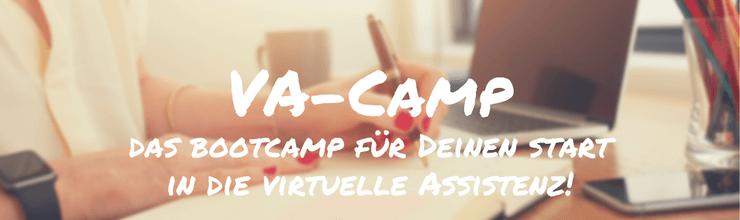 VA-Camp: Das Bootcamp für Deinen Start in die Virtuelle Assistenz